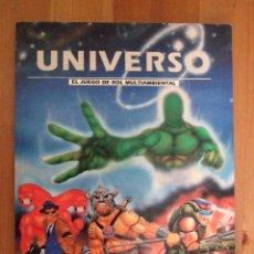 Juegos Antiguos: LIBRO JUEGO UNIVERSO - EL JUEGO DE ROL MULTIAMBIENTAL - CRONOPOLIS - 1994 - IDEAL PRINCIPIANTES. Lote 46728877