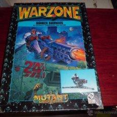 Juegos Antiguos: WARZONE BUNKER BAUHAUS CON FIGURA ESPECIAL DIFICIL CONTIENE 1 BUNKER PARA MONTAR VER FOTOS. Lote 46985938
