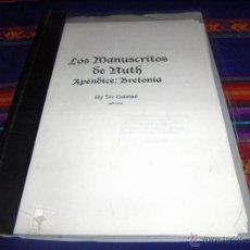 Juegos Antiguos: LOS MANUSCRITOS DE NUTH, APÉNDICE: BRETONIA POR SIR GALAHAD. JULIO 2004. . Lote 47106100