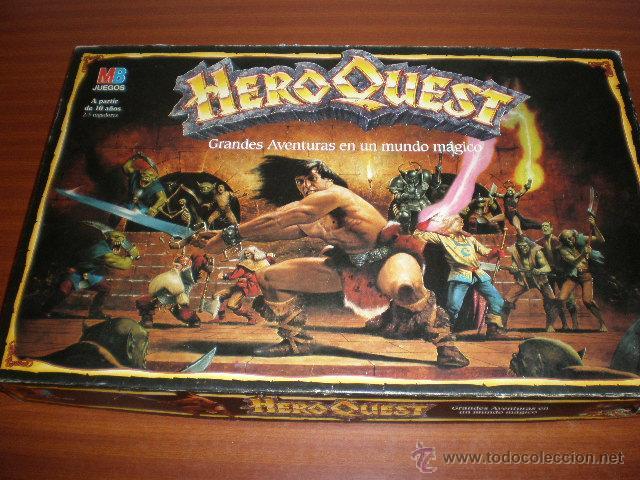 Heroquest Juego De Mesa Rol De Mb Comprar Juegos De