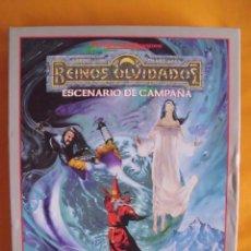 Juegos Antiguos: REINOS OLVIDADOS ESCENARIO DE CAMPAÑA REINOS OLVIDADOS, JUEGO DE ROL, DUNGEONS & DRAGONS. Lote 47551354