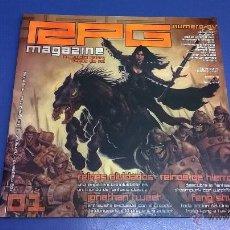 Juegos Antiguos: REVISTA RPG MAGAZINE Nº 1, ÉPOCA I, JULIO/AGOSTO 2002. Lote 47752492