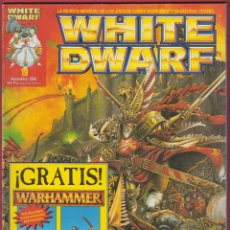 Juegos Antiguos: WHITE DWARF-Nº19-GAMES WORKSHOP,LTD-MINIATURES CATALOGUE-IMPRESION ROTOCAYFO,S.A.-1996. Lote 47771951