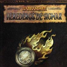 Jeux Anciens: HEREDEROS DE SIGMAR - GUÍA DEL IMPERIO - WARHAMMER. Lote 48112554