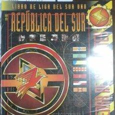 Juegos Antiguos: HEAVY GEAR. REPÚBLICA DEL SUR. LIBRO DE LIGA DEL SUR UNO. TIERRA DE SERPIENTES. Lote 125381698