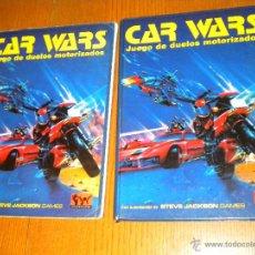 Juegos Antiguos: CAR WARS. JUEGO DE DUELOS MOTORIZADOS ,JOC INTERNACIONAL , LIBRO Y CARPETA. Lote 48730041