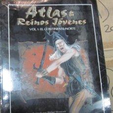 Juegos Antiguos: ROL: ATLAS DE LOS REINOS JOVENES - ELRIC - PRECINTADO A ESTRENAR. Lote 195157931
