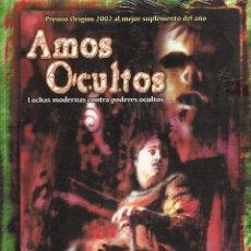 Juegos Antiguos: ROL: LLAMADA DE CTHULHU - AMOS OCULTOS - PRECINTADO A ESTRENAR. Lote 297149748