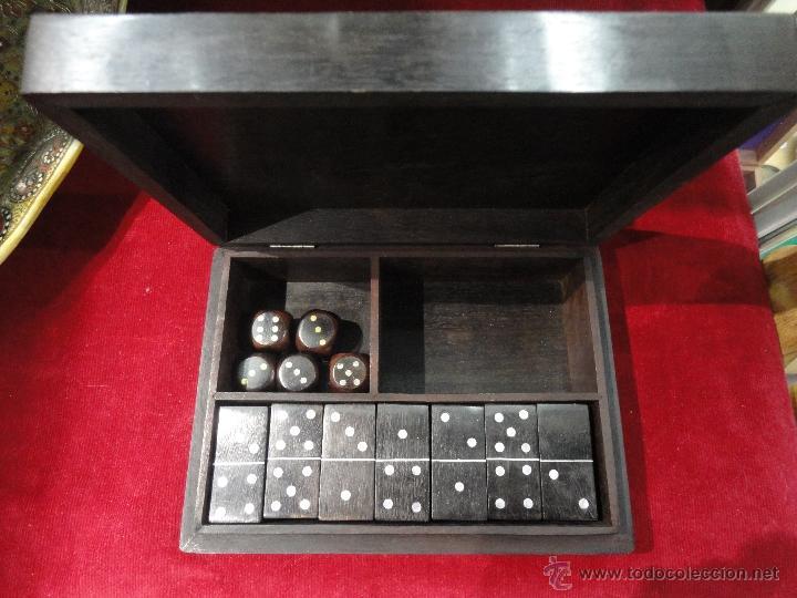 Juegos Antiguos: ESTUCHE CON JUEGOS DE MESA - Foto 2 - 48875850