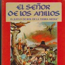 Juegos Antiguos: EL SEÑOR DE LOS ANILLOS - JUEGO DE ROL DE LA TIERRA MEDIA - ED. JOC INTERNACIONAL 1992 / BARCELONA. Lote 48888170