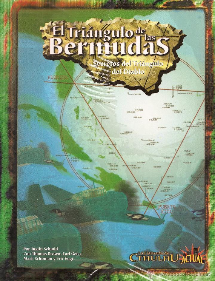 ROL: LLAMADA DE CTHULHU - TRIANGULO DE LAS BERMUDAS - PRECINTADO A ESTRENAR (Juguetes - Rol y Estrategia - Juegos de Rol)