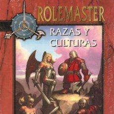 Juegos Antiguos: ROL: ROLEMASTER : RAZAS Y CULTURAS - PRECINTADO A ESTRENAR. Lote 207156336