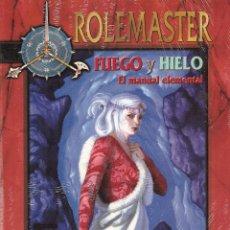 Jogos Antigos: ROL: ROLEMASTER: FUEGO Y HIELO - PRECINTADO A ESTRENAR. Lote 206754072