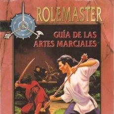 Juegos Antiguos: ROL: ROLEMASTER: GUIA DE LAS ARTES MARCIALES - PRECINTADO A ESTRENAR. Lote 207156328