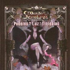 Juegos Antiguos: ROL: ROLEMASTER: PODERES DE LUZ Y TINIEBLAS - MUNDO DE LAS SOMBRAS - A ESTRENAR. Lote 195157936