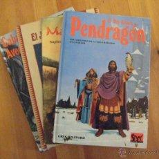 Juegos Antiguos: GRAN LOTE PENDRAGON JUEGO COMPLETO - GREG STAFFORD - JOC INTERNACIONAL - PRIMERA EDICION - PERFECTO. Lote 49005028