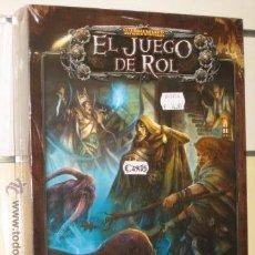 Juegos Antiguos: WARHAMMER EL JUEGO DE ROL LOS VIENTOS DE LA MAGIA - EDGE ENTERTEINMENT OFERTA. Lote 49005988
