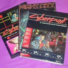 Juegos Antiguos: CYBERPUNK SEGUNDA 2 EDICION ROL - NIGHT CITY - PANTALLA DE DATOS ¡FORRADO!. Lote 49144727