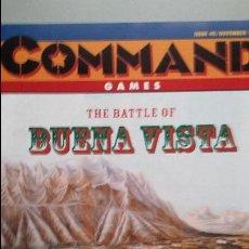 Juegos Antiguos: WARGAME REVISTA COMMAND: BUENA VISTA Y MOSCOW BURNING. Lote 49196616