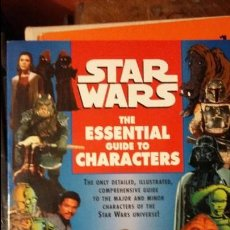 Juegos Antiguos: STAR WARS: THE ESSENTIAL GUIDE TO CHARACTERS.. Lote 49212302