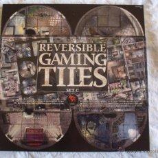 Jogos Antigos: REVERSIBLE GAMING TILES SET C. TABLEROS JUEGOS DE ROL ¡QUEDAN 2! HERO QUEST WARHAMMER WARCRAFT. Lote 182066647