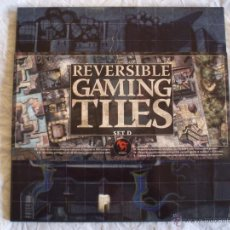 Jogos Antigos: REVERSIBLE GAMING TILES SET D. TABLEROS JUEGOS DE ROL ¡QUEDAN 3! HERO QUEST WARHAMMER WARCRAFT. Lote 182066611