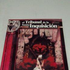 Juegos Antiguos: EL TRIBUNAL DE LA SANTA INQUISICIÓN, SUPLEMENTO PARA AQUELARRE JUEGO DE ROL , QUEPUNTOES. Lote 101496256