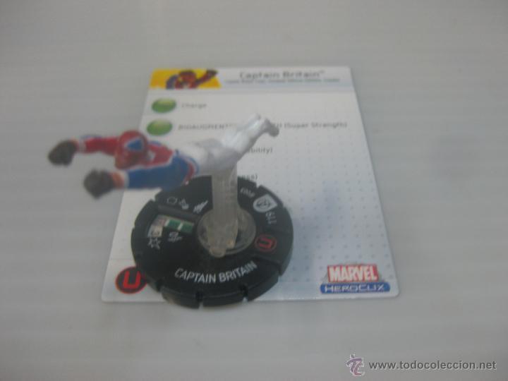 MARVEL HEROCLIX CAPTAIN BRITAIN (Juguetes - Rol y Estrategia - Juegos de Rol)