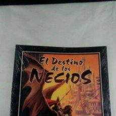 Juegos Antiguos: EL DESTINO DE LOS NECIOS , SUPLEMENTO PARA ELRIC JUEGO DE ROL , FACTORIA DE IDEAS. Lote 128951252