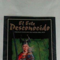 Juegos Antiguos: EL ESTE DESCONOCIDO , SUPLEMENTO PARA ELRIC JUEGO DE ROL , FACTORIA DE IDEAS. Lote 198017472