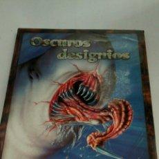 Juegos Antiguos: OSCUROS DESIGNIOS , SUPLEMENTO PARA EL JUEGO DEL ROL LA LLAMADA DE CTHULHU DE FACTORIA DE IDEAS. Lote 166253337