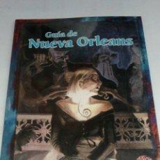 Juegos Antiguos: GUÍA DE NUEVA ORLEANS , LA LLAMADA DE CTHULHU. Lote 86532378