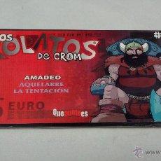 Juegos Antiguos: LOS ROLATOS DE CROM 04 AQUELARRE AMADEO. Lote 269188090