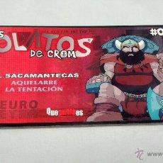 Juegos Antiguos: LOS ROLATOS DE CROM 05 AQUELARRE , EL SACAMANTECAS #. Lote 216637687