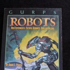 Juegos Antiguos: GURPS - ROBOTS - BOLD EXPERIMENTS, FAITHFUL SERVANTS - STEVE JACKSON GAMES - INGLES - ROL. Lote 49885152