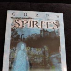 Juegos Antiguos: GURPS - SPIRITS - STEVE JACKSON GAMES - INGLES - ROL. Lote 49885179