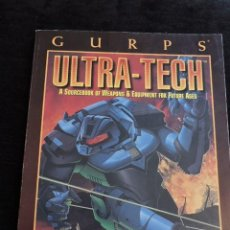 Juegos Antiguos: GURPS - ULTRA-TECH - STEVE JACKSON GAMES - INGLES - ROL. Lote 49885221