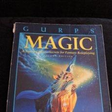 Juegos Antiguos: GURPS - MAGIC - STEVE JACKSON GAMES - INGLES - ROL. Lote 49885248