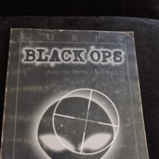 Juegos Antiguos: GURPS - BLACK OPS - FIND THE TRUTH - AND KILL IT - STEVE JACKSON GAMES - INGLES - ROL. Lote 49885269