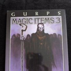 Juegos Antiguos: GURPS - MAGIC ITEMS 3 - STEVE JACKSON GAMES - INGLES - ROL. Lote 49901128