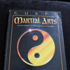 Juegos Antiguos: GURPS - MARTIAL ARTS - EXOTIC COMBAT SYSTEMS FROM ALL CULTURES - STEVE JACKSON GAMES - INGLES - ROL. Lote 49901134