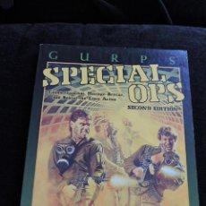 Juegos Antiguos: GURPS - SPECIAL OPS - COUNTERTERRORISM HOSTGE RESCUE ... - STEVE JACKSON GAMES - INGLES - ROL. Lote 49901167