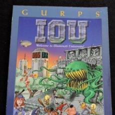 Juegos Antiguos: GURPS - IOU - WELLCOME TO ILLUMINATI UNIVERSITY! - STEVE JACKSON GAMES - INGLES - ROL. Lote 49901174