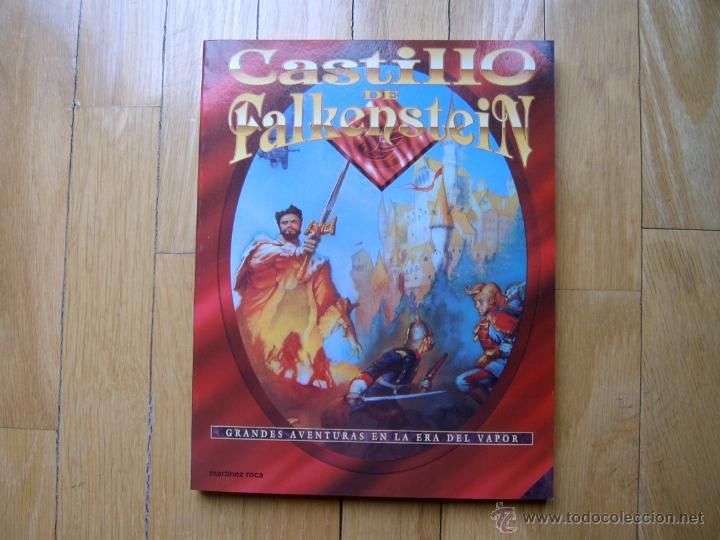 CASTILLO DE FALKENSTEIN - JUEGO DE ROL - MARTINEZ ROCA 1ª EDICIÓN 1995 - DESCATALOGADO (Juguetes - Rol y Estrategia - Juegos de Rol)