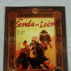 Juegos Antiguos: LA SENDA DEL LEON SUPLEMENTO JUEGO DE ROL LA LEYENDA DE LOS CINCO ANILLOS DE FACTORIA DE IDEAS. Lote 168832345