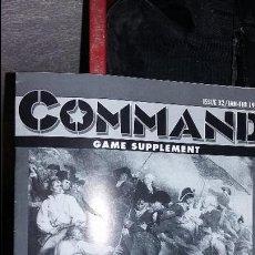 Juegos Antiguos: WARGAME REVISTA COMMAND Nº 32. BUNKER HILL. Lote 50115390