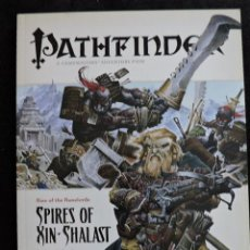 Juegos Antiguos: PATHFINDER ADVENTURE PATH - RISE OF DE RUNELORDS - 6 SPIRES OF XIN-SHALAST - INGLES - ROL. Lote 50177994