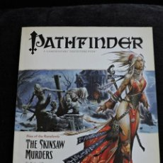 Juegos Antiguos: PATHFINDER ADVENTURE PATH - RISE OF DE RUNELORDS - 2 THE SKINSAW MURDERS - INGLES - ROL. Lote 50178061