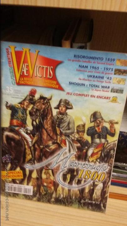 WARGAME MARENGO 1800. SERIE JOURS DE GLOIRE, REVISTA VAE VICTIS Nº 36 (Juguetes - Rol y Estrategia - Otros)