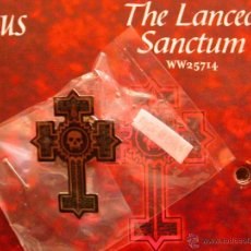 Juegos Antiguos: PIN DEL CLAN LANCEA SANCTUM PARA VAMPIRO EL REQUIEM. Lote 50222249